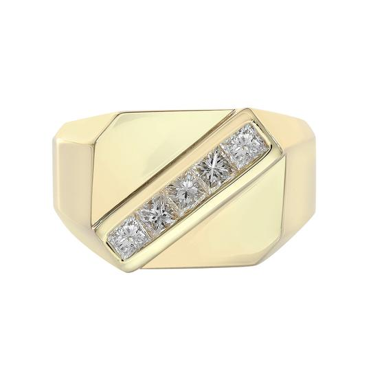 Preload https://img-static.tradesy.com/item/21544058/avital-and-co-jewelry-14k-yellow-gold-105-carat-princess-cut-diamond-channel-setting-mens-yg-ring-0-0-540-540.jpg