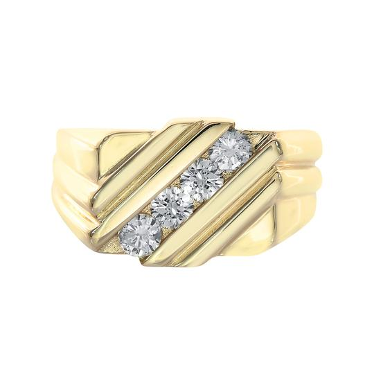 Preload https://item1.tradesy.com/images/avital-and-co-jewelry-14k-yellow-gold-060-carat-round-cut-diamond-channel-setting-mens-ring-21544110-0-0.jpg?width=440&height=440