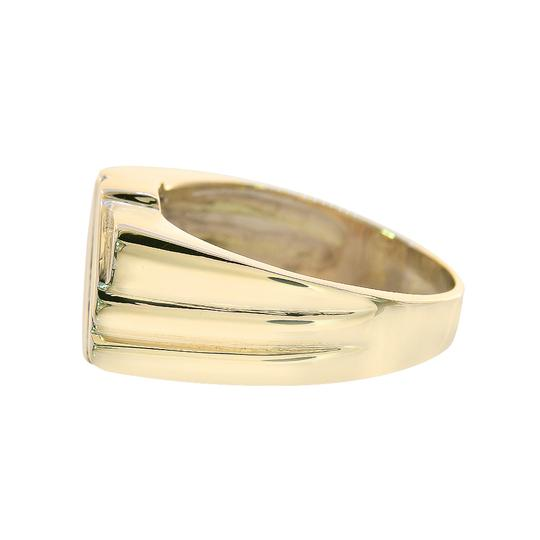 Avital & Co Jewelry 0.60 Carat Round Cut Diamond Channel Setting Mens Ring 14K Yellow Gold