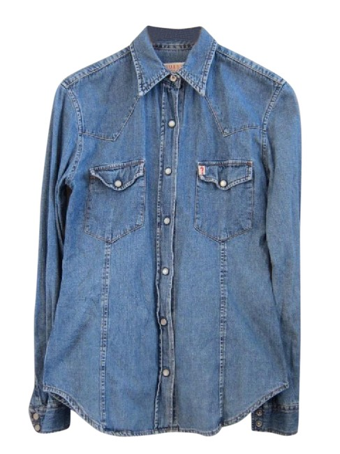 Preload https://img-static.tradesy.com/item/21544161/guess-blue-vintage-80s-90s-denim-shirts-small-button-down-top-size-4-s-0-1-650-650.jpg