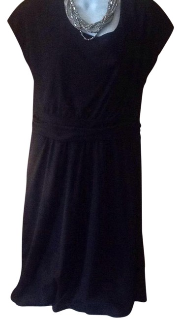 Preload https://item3.tradesy.com/images/black-mid-length-night-out-dress-size-12-l-21544407-0-2.jpg?width=400&height=650