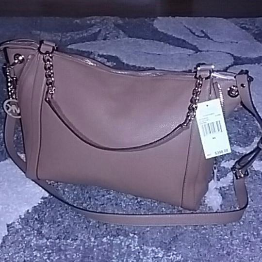 Michael Kors Satchel in BROWN/ACORN