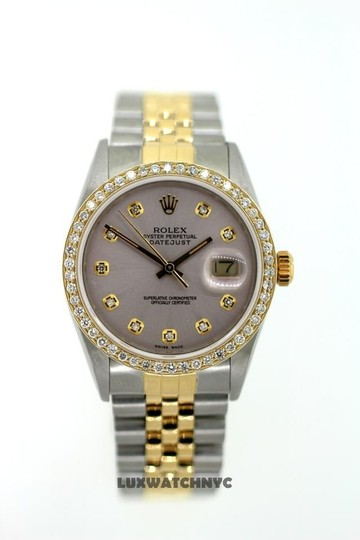 Rolex 1.5CT 36MM MEN'S ROLEX DATEJUST 2-TONE WATCH W/ ROLEX BOX & APPRAISAL