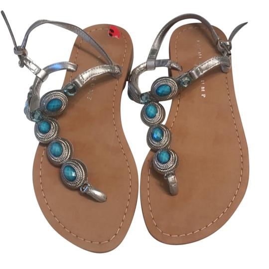 Preload https://img-static.tradesy.com/item/21544594/ivanka-trump-turquoise-and-silver-vance-leather-sandals-size-us-6-regular-m-b-0-1-540-540.jpg