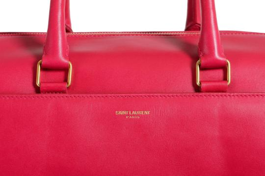 Saint Laurent Tote in Fuxia Pink