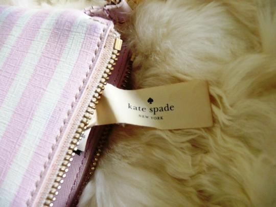Kate Spade Wristlet in White and Light Purple