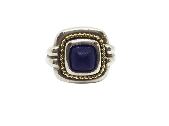 Preload https://item4.tradesy.com/images/tiffany-and-co-sterling-silver18k-yellow-gold-blue-lapis-with-ring-21544663-0-1.jpg?width=440&height=440