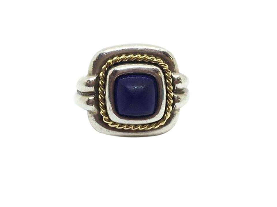 a7066c9ad Tiffany & Co. Tiffany & Co. Blue Lapis Ring Sterling Silver with 18k Yellow  ...