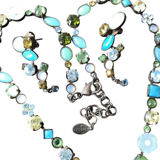 Preload https://item3.tradesy.com/images/sorrelli-light-green-yellow-yellow-green-opalescent-white-turquoise-white-flowers-with-sparkling-cle-21544727-0-6.jpg?width=440&height=440