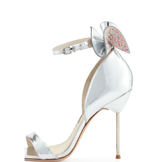 Sophia Webster Silver Sandals