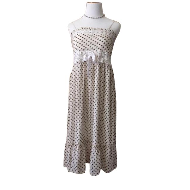 Preload https://item5.tradesy.com/images/dotted-classic-mid-length-cocktail-dress-size-8-m-21544889-0-1.jpg?width=400&height=650