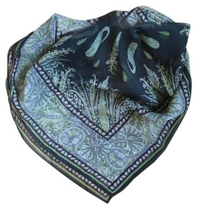 Madewell Printed Sheer Silk Scarf