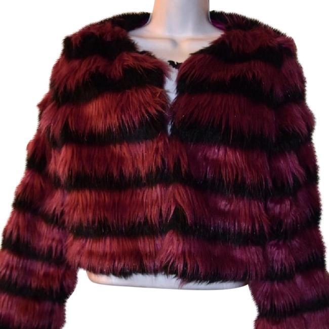Preload https://item4.tradesy.com/images/mustard-seed-black-and-fuchsia-faux-fur-size-4-s-21545023-0-1.jpg?width=400&height=650