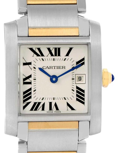 Preload https://item2.tradesy.com/images/cartier-silver-tank-francaise-midsize-steel-18k-gold-ladies-w51012q4-watch-21545081-0-1.jpg?width=440&height=440