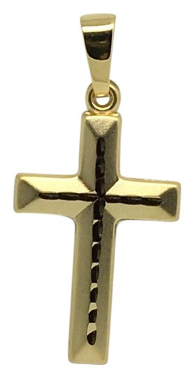 Preload https://img-static.tradesy.com/item/21545115/14k-yellow-gold-small-reversible-crucifix-pendant-charm-0-1-540-540.jpg