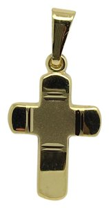 Other 14K Yellow Gold Small Reversible Crucifix Pendant