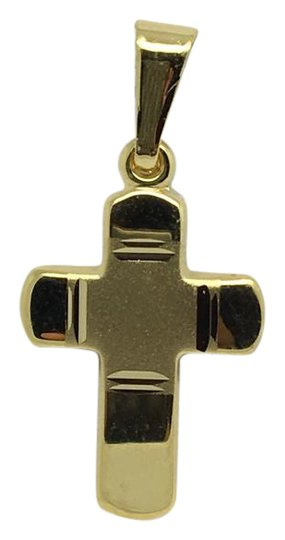 Preload https://item3.tradesy.com/images/14k-yellow-gold-small-reversible-crucifix-pendant-charm-21545122-0-1.jpg?width=440&height=440