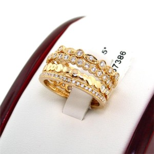 ABC Jewelry Fancy Stack Rings