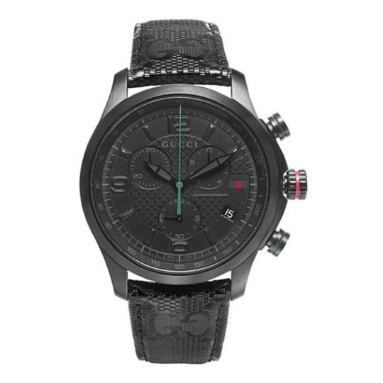 Preload https://item3.tradesy.com/images/gucci-g-timeless-black-pvd-g-fabric-strap-men-s-ya126244-watch-21545202-0-0.jpg?width=440&height=440