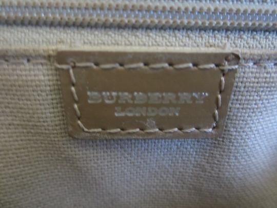 Burberry London Satchel in Pink and Beige