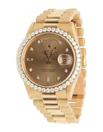 Preload https://item2.tradesy.com/images/rolex-yellow-gold-18k-mens-president-18238-day-date-35-ct-watch-21545376-0-0.jpg?width=440&height=440