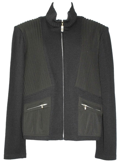 Preload https://item4.tradesy.com/images/st-john-black-sport-by-marie-gray-wool-blend-paneling-knit-jacket-xl-blazer-size-16-xl-plus-0x-2154548-0-0.jpg?width=400&height=650