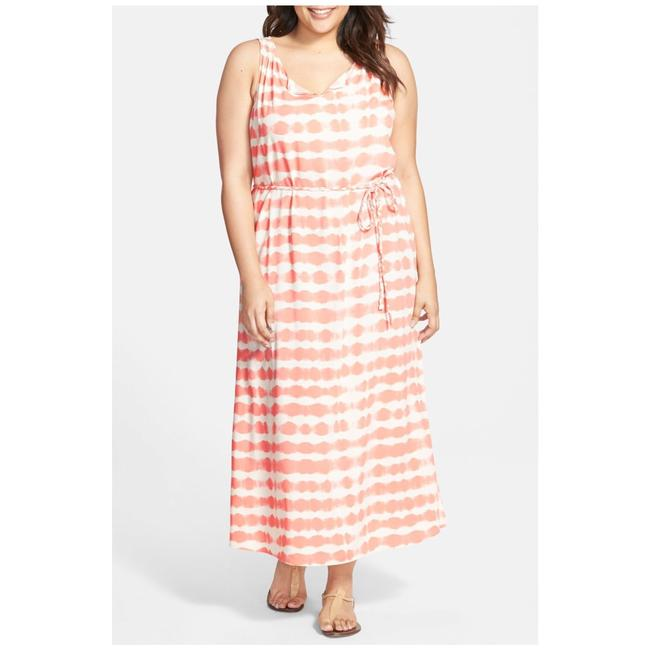 Preload https://img-static.tradesy.com/item/21545508/vince-camuto-coral-and-white-sun-baked-striped-long-casual-maxi-dress-size-20-plus-1x-0-0-650-650.jpg