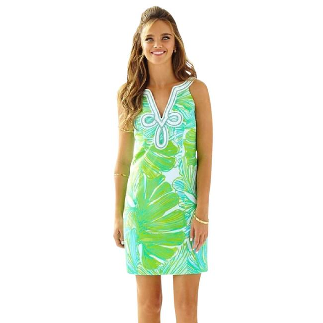 Preload https://item4.tradesy.com/images/lilly-pulitzer-green-sheen-fronds-placed-tessa-shift-20055-new-short-cocktail-dress-size-0-xs-21545523-0-1.jpg?width=400&height=650
