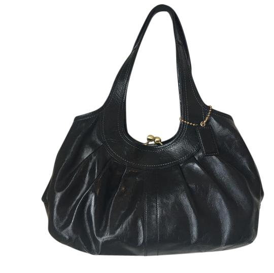 Preload https://item1.tradesy.com/images/coach-ergo-pleated-framed-black-patent-leather-satchel-21545615-0-1.jpg?width=440&height=440