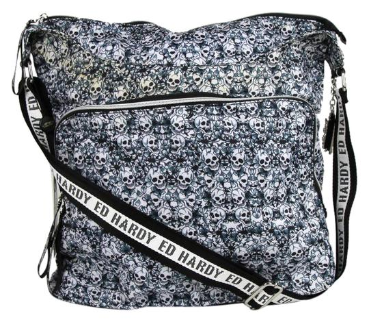 Preload https://item3.tradesy.com/images/ed-hardy-junkfood-snicker-hobo-jusni1826-black-fabric-synthetic-messenger-bag-21545637-0-1.jpg?width=440&height=440