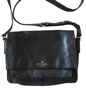 Kate Spade Pebbled Lined Leather Cross Body Bag