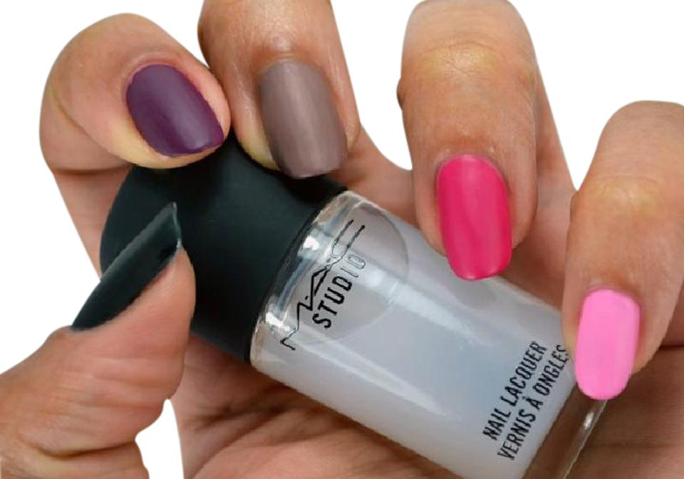 Mac Cosmetics Clear Matte Overlacquer Matte Nail Polish Top Coat 43 Off Retail