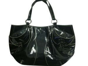 Any Hindmarch Patent Leather Patent Leather Shoulder Bag