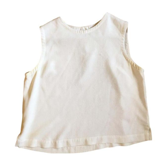 Preload https://item3.tradesy.com/images/eileen-fisher-off-white-silk-woven-shell-tank-topcami-size-4-s-21545797-0-1.jpg?width=400&height=650