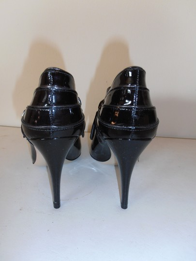 Valentino Patent Leather Ankle Worn Once black Boots