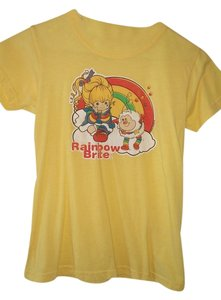 Kitson Reserved For Sarah T Shirt Bright Yellow