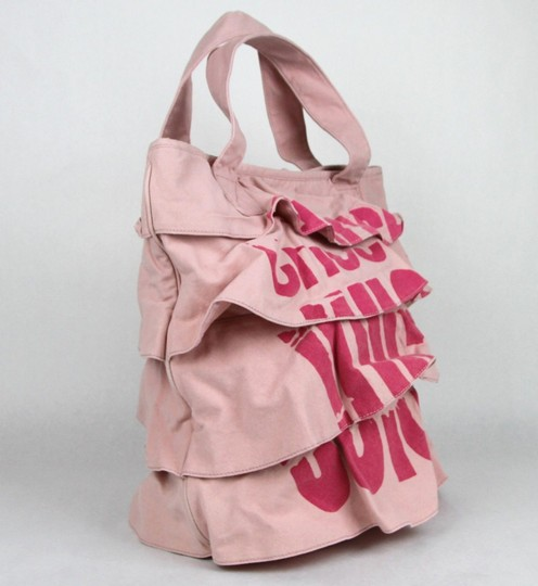 Juicy Couture Ruffled Tote in Pink