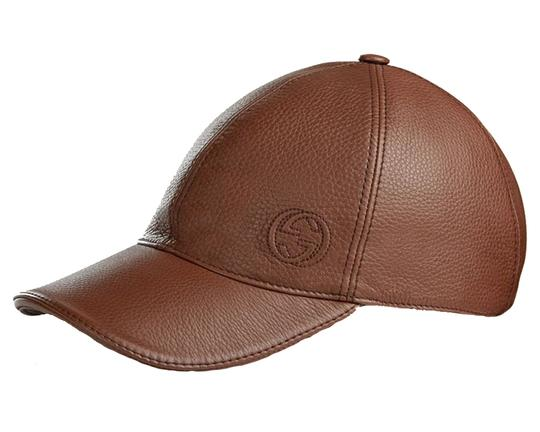 Preload https://item2.tradesy.com/images/gucci-brown-men-s-leather-baseball-cap-337798-2138-medium-hat-21545886-0-0.jpg?width=440&height=440
