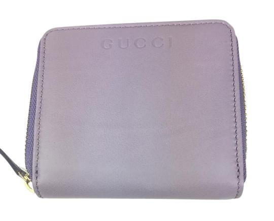 Preload https://item2.tradesy.com/images/gucci-purple-women-s-soft-calf-leather-french-flap-light-346056-wallet-21545921-0-1.jpg?width=440&height=440