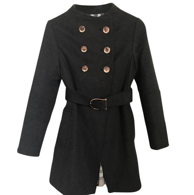 Preload https://item1.tradesy.com/images/burberry-london-dark-brown-nwot-runway-collarless-wool-coat-size-4-s-21545985-0-2.jpg?width=400&height=650