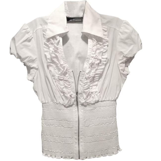 Preload https://item4.tradesy.com/images/ruffle-blouse-size-os-one-size-21545998-0-2.jpg?width=400&height=650
