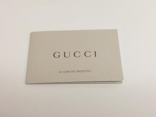 Gucci Gucci Men's Moon Leather Bifold Wallet Classic Olive Green 260987