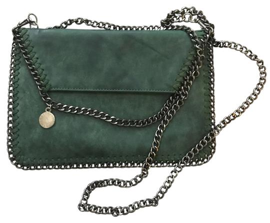 Preload https://item1.tradesy.com/images/used-a-few-times-only-green-leather-cross-body-bag-21546045-0-1.jpg?width=440&height=440