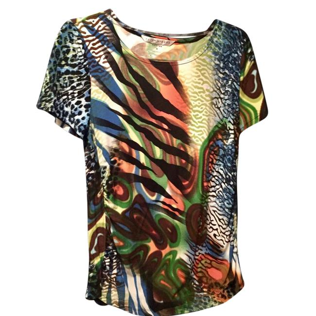 Preload https://item3.tradesy.com/images/peter-nygard-colorful-tee-shirt-size-petite-8-m-21546052-0-1.jpg?width=400&height=650