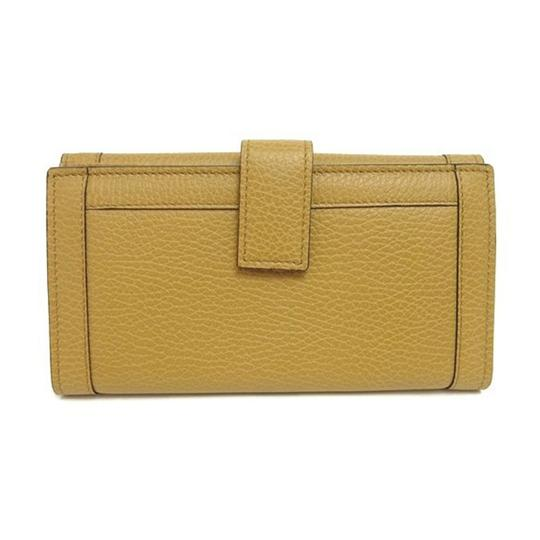 Gucci Gucci Women's Textured Leather Continental Flap Wallet 231839 7709