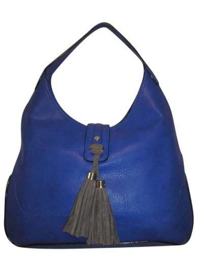 Preload https://item4.tradesy.com/images/kate-landry-cobalt-blue-faux-leather-shoulder-bag-21546118-0-1.jpg?width=440&height=440