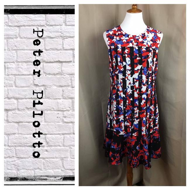 Preload https://item1.tradesy.com/images/peter-pilotto-for-target-redwhiteblackblue-floral-print-tunic-mid-length-workoffice-dress-size-8-m-21546130-0-1.jpg?width=400&height=650
