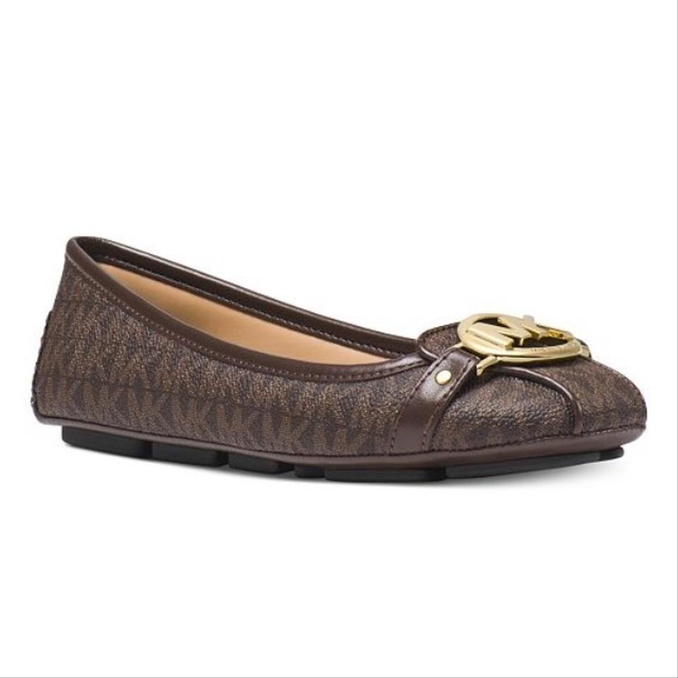 808e9a35b136b Michael Kors Brown Fulton Moccasin Flats Size US 8.5 Regular (M
