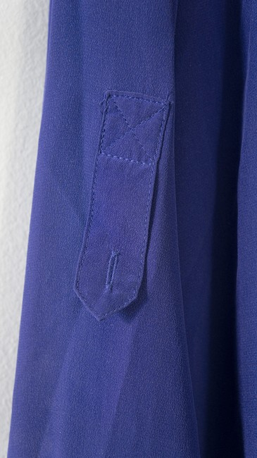 Marc by Marc Jacobs Silk Top Val Blue