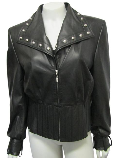 Preload https://item4.tradesy.com/images/st-john-black-couture-08-medium-lamb-leather-motorcycle-size-10-m-21546463-0-1.jpg?width=400&height=650
